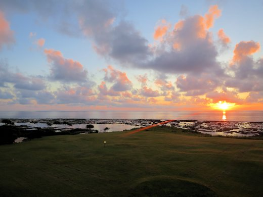 日の出/徳之島