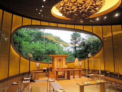 ホテル椿山荘東京を対象にフィールドワーク